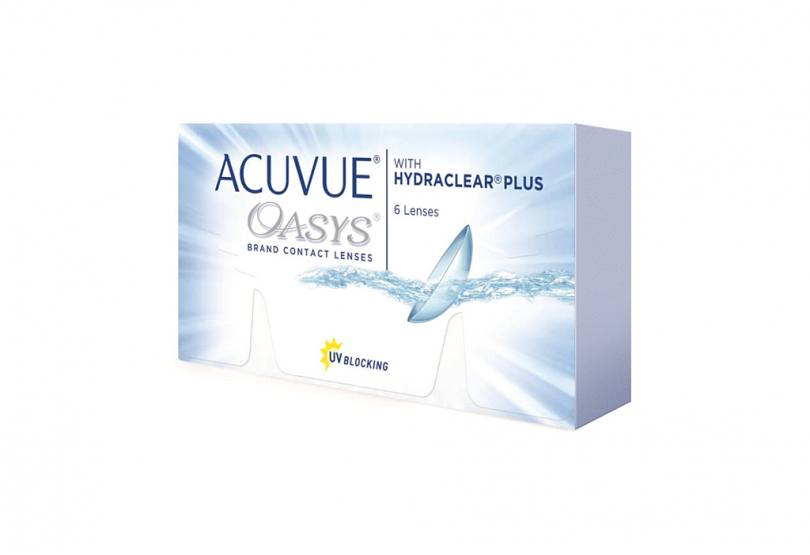 ACUVUE OASYS with Hydraclear Plus (6 шт.) Smart Vision