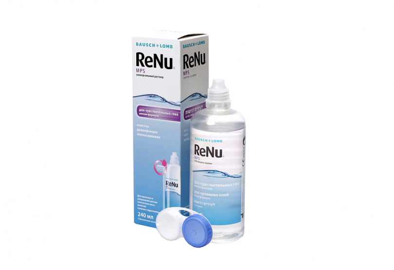 ReNu Multi-Purpose Solution (240 ml) Smart Vision