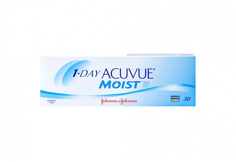 1 DAY ACUVUE Moist (30 шт.) Smart Vision