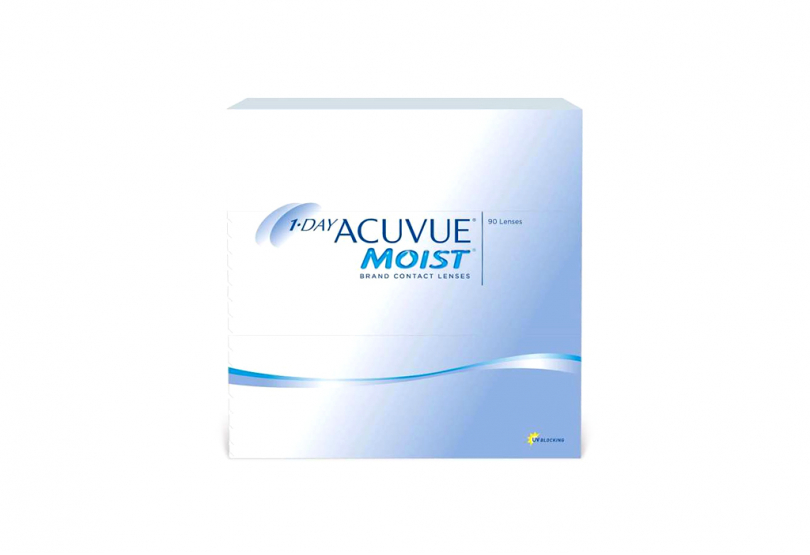 1 DAY ACUVUE Moist (90 шт.) Smart Vision