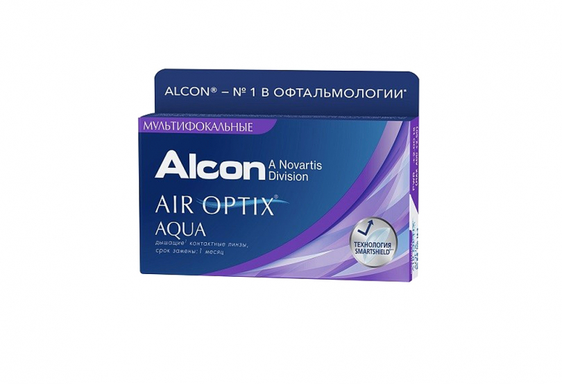 AIR OPTIX AQUA MultiFocal (3 шт.) Smart Vision