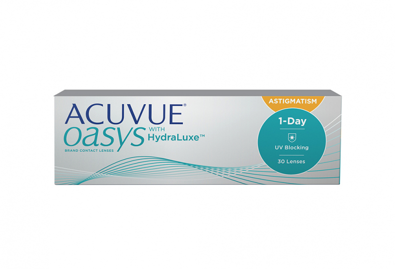 ACUVUE OASYS 1 Day with HydraLuxe for Astigmatism (30 шт.) Smart Vision