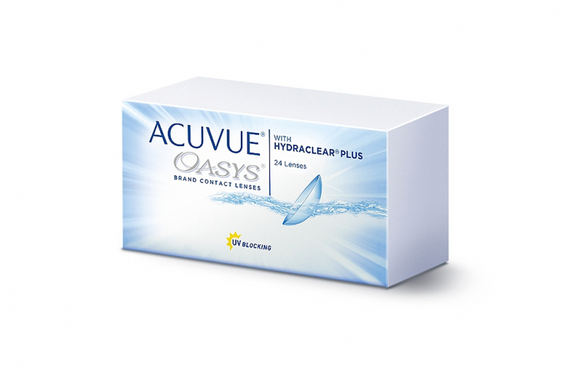ACUVUE OASYS with Hydraclear Plus (24 шт.) Smart Vision